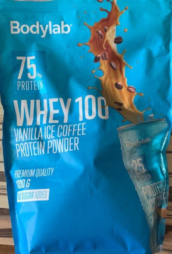 Fotografie - Whey 100 Vanilla Ice Coffee protein powder Bodylab