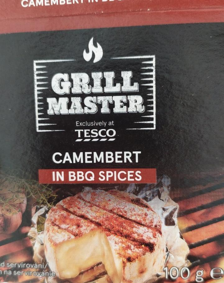 Fotografie - Grill Master camembert in BBQ spices Tesco