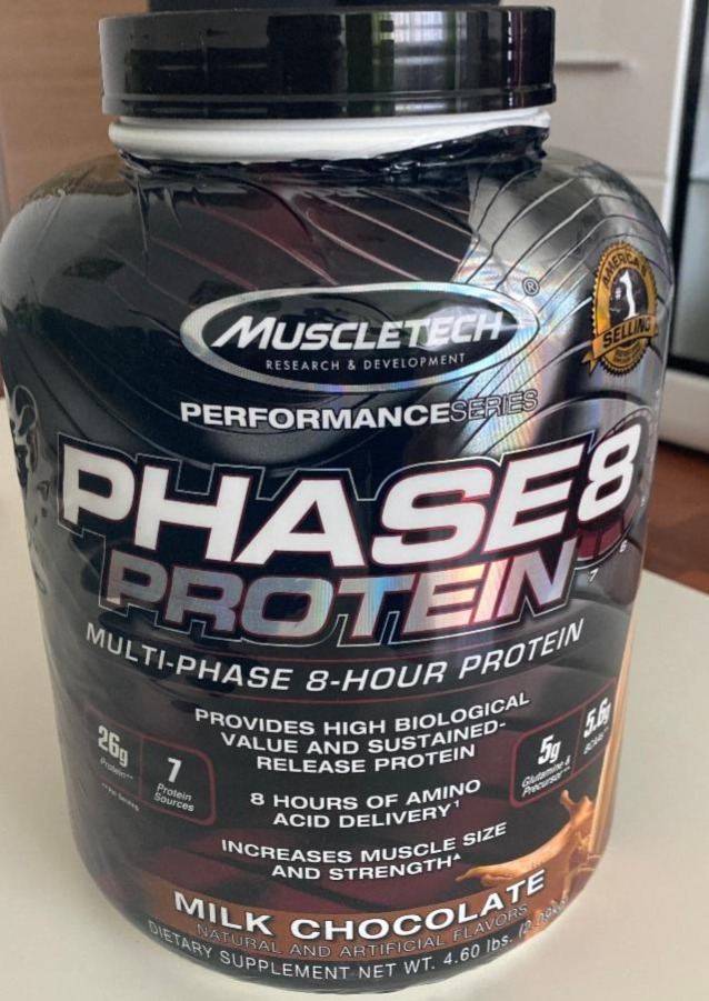Fotografie - Phase 8 Protein Milk Chocolate MuscleTech