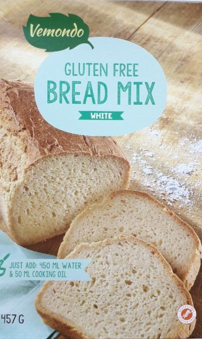 Fotografie - Gluten Free Bread Mix White Vemondo