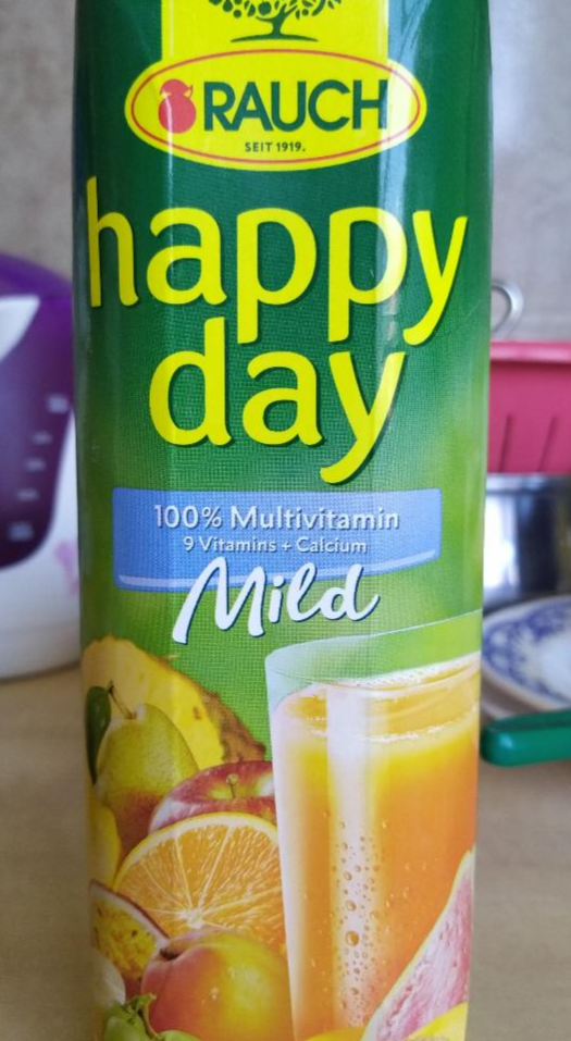 Fotografie - Happy Day Mild 100% multivitamin