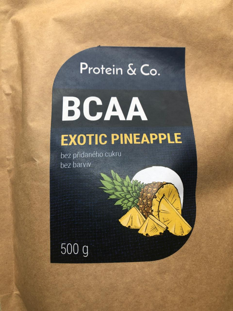 Fotografie - BCAA exotic pineapple Protein & Co.