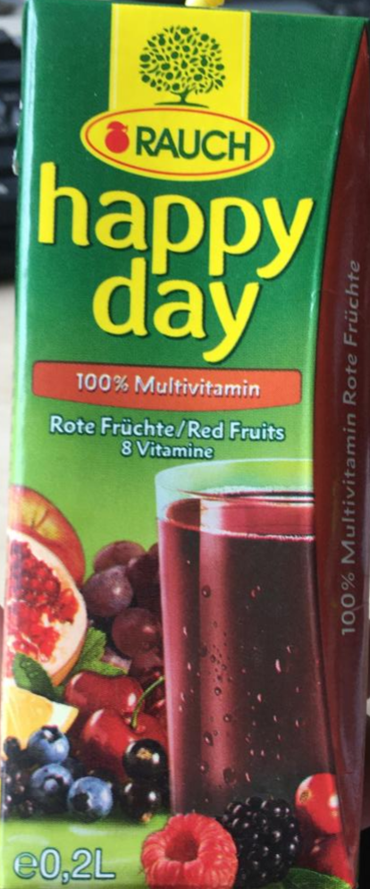 Fotografie - Happy day 100% multivitamin Rauch