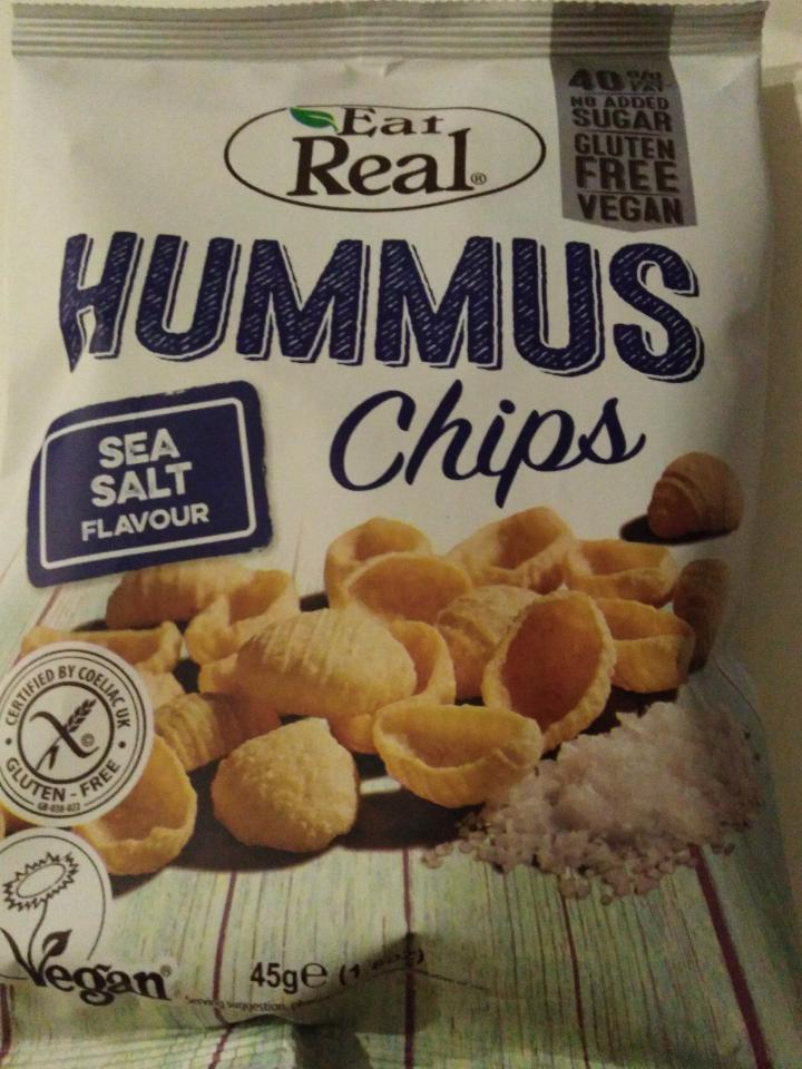 Fotografie - Hummus Chips Sea Salt Flavour