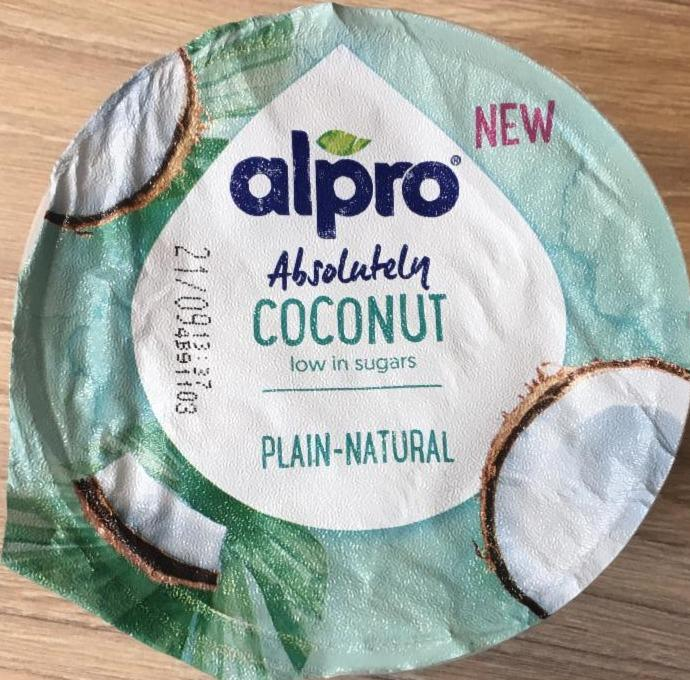 Fotografie - Absolutely coconut natural jogurt Alpro