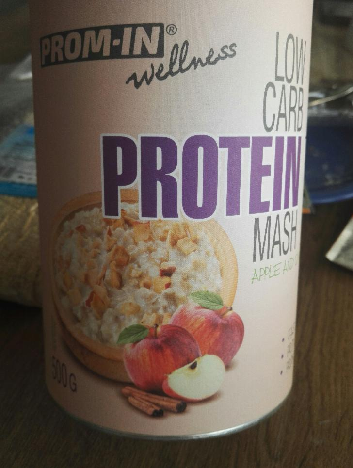 Fotografie - New Low carb protein Mash Apple & Cinnamon Prom-in