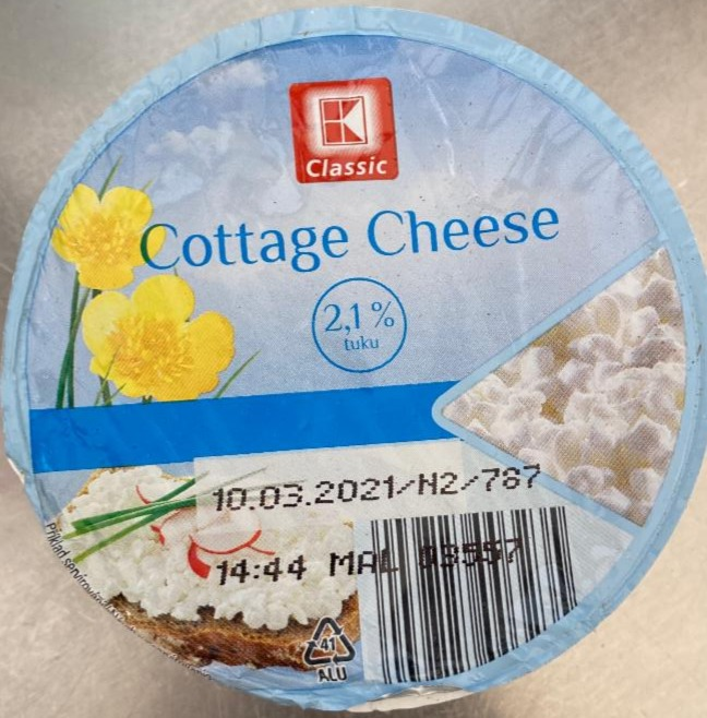 Fotografie - Cottage cheese 2,1% K-Classic