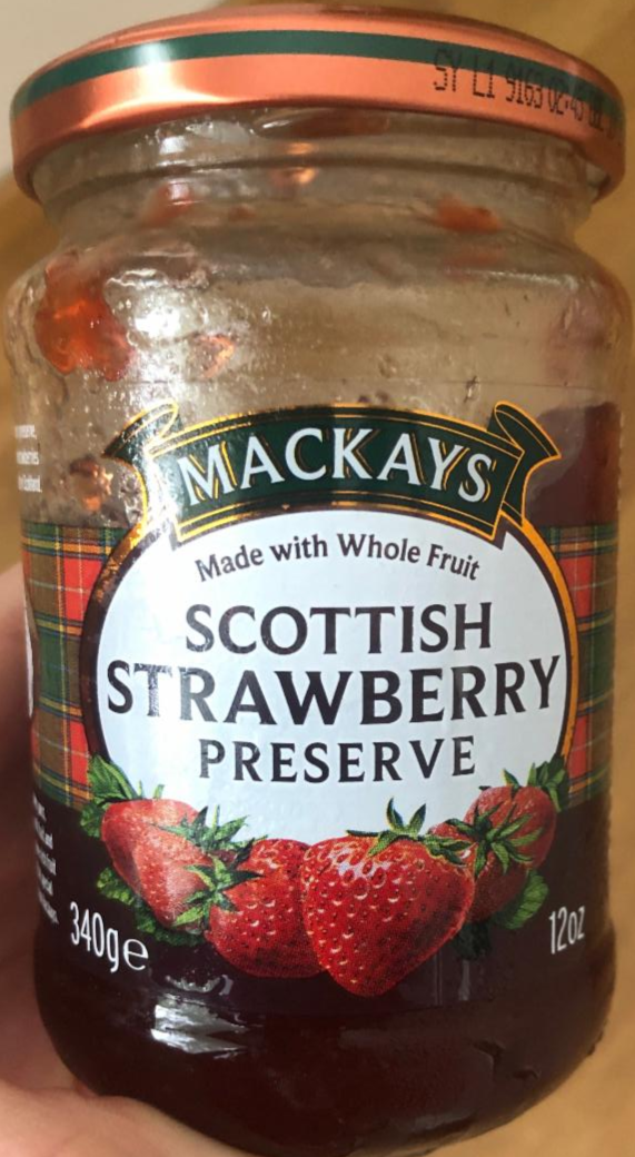 Fotografie - Scottish Strawberry Preserve Mackays