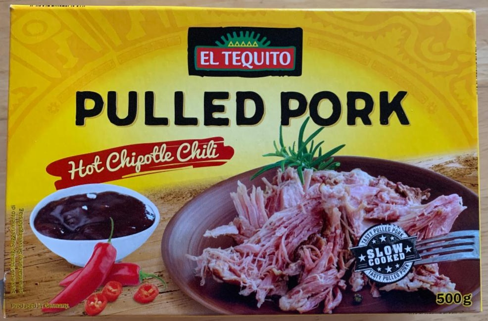 Fotografie - Pulled Pork with hot Chipotle Chilli El Tequito