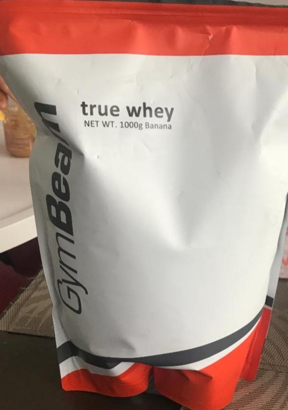 Fotografie - True Whey Protein Banana GymBeam