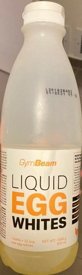 Fotografie - Liquid Egg White GymBeam