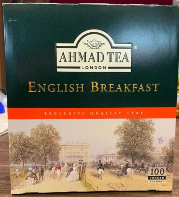 Fotografie - English Breakfast Tea Ahmad Tea London