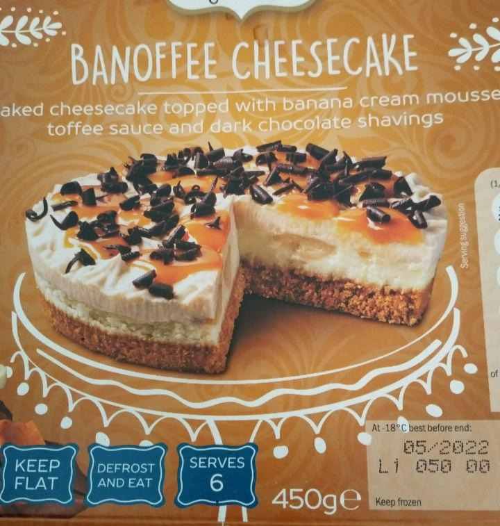 Fotografie - Banoffee cheesecake