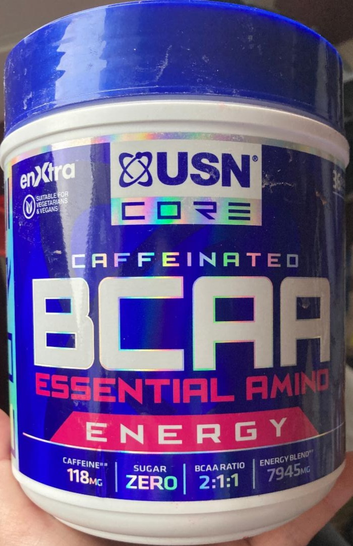 Fotografie - BCAA Essential Amino Energy Watermelon flavour USN