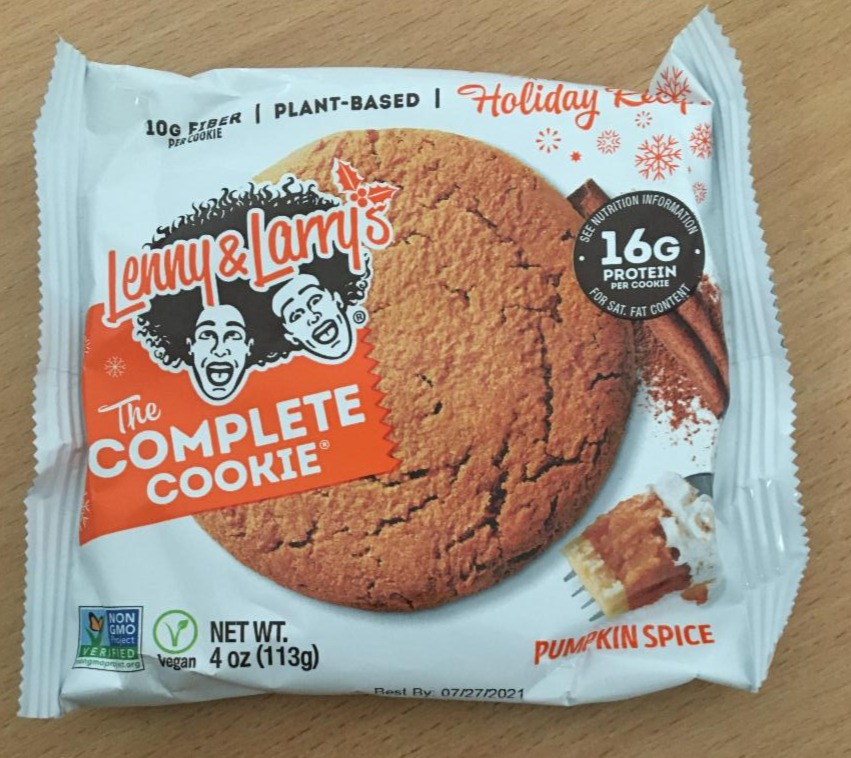 Fotografie - The Complete Cookie Pumpkin Spice Lenny & Larry's
