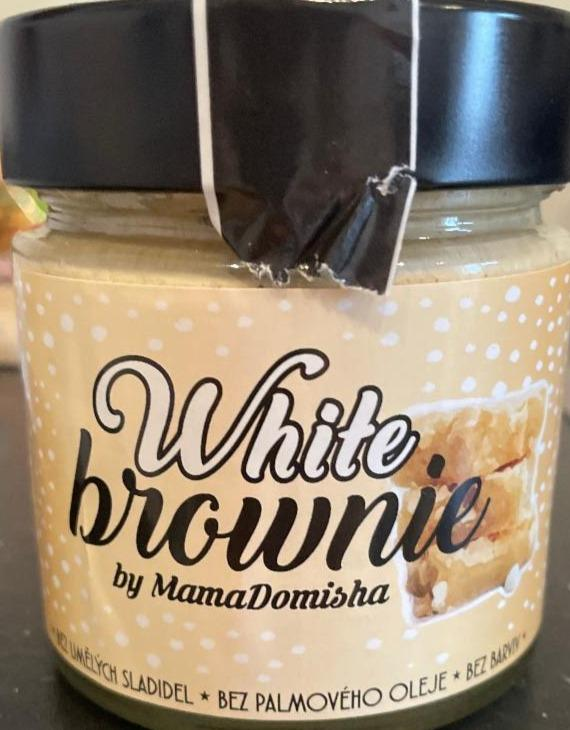 Fotografie - White brownie by Mama Domisha Big Boy