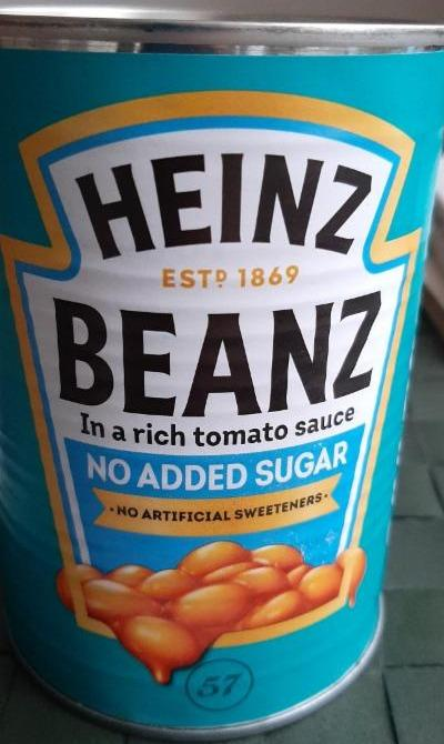Fotografie - No Added Sugar Beanz Heinz