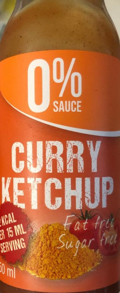 Fotografie - 0% SAUCE Curry Ketchup