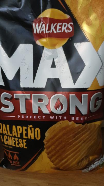 Fotografie - Max strong jalapeno & cheese Walkers