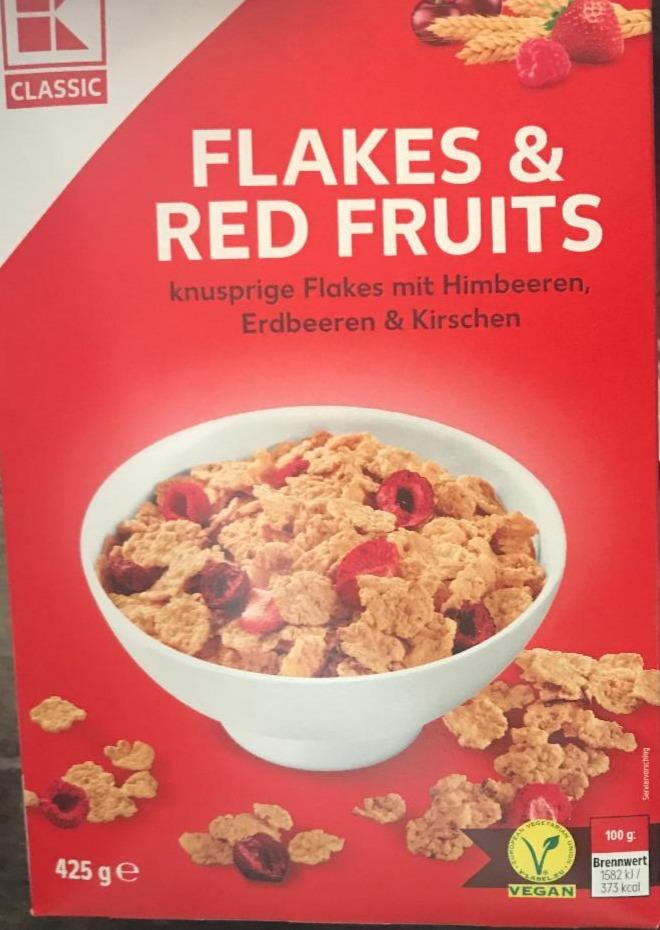 Fotografie - Flakes a Red fruits