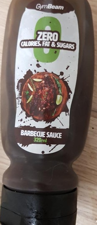 Fotografie - barbecue sauce zero calories GymBeam