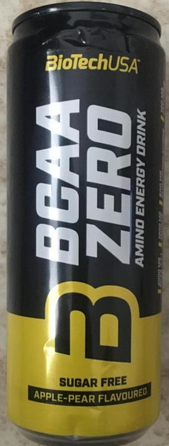 Fotografie - BCAA Zero Amino Energy Drink sugar free Apple-Pear BioTechUSA