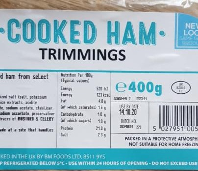 Fotografie - Cooked Ham Trimmings