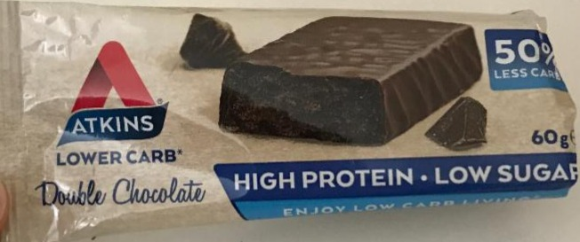 Fotografie - Protein Bar Double Chocolate Atkins