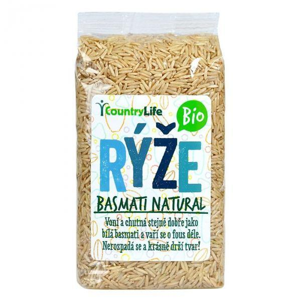 rýže  Basmati natural Bio Country Life