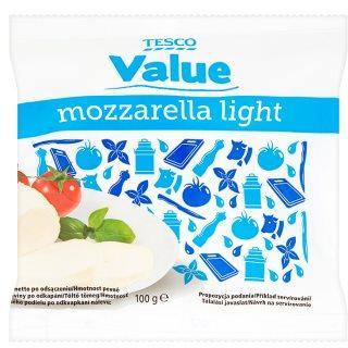 mozzarella light Tesco Value