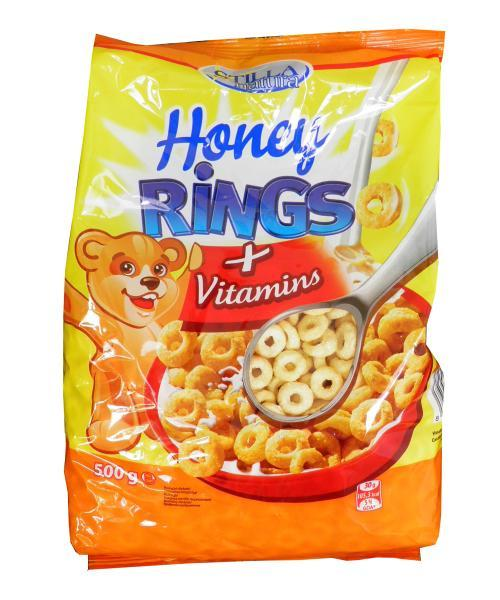 Honey rings s vitamíny Stilla