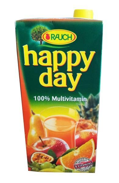 Rauch Happy Day multivitamin 100 %