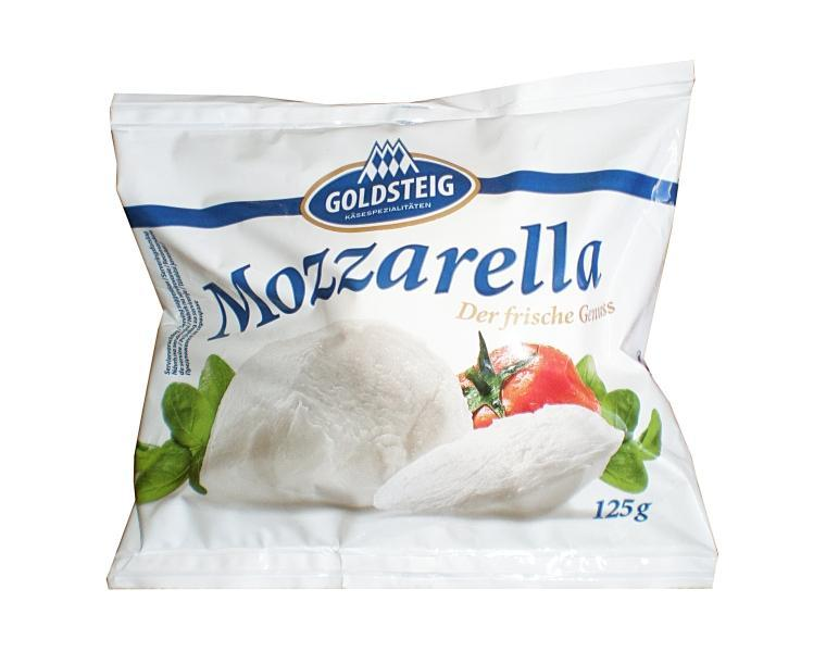mozzarella light Goldsteig