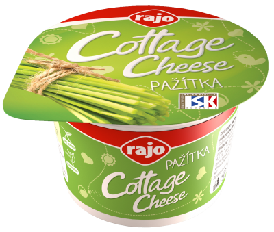 Cottage cheese pažitka Rajo