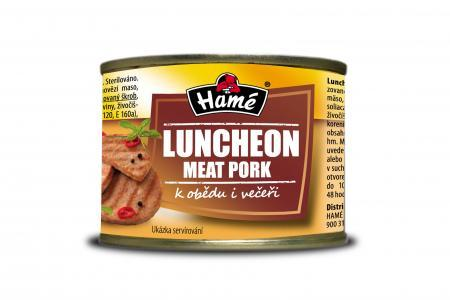 Luncheon meat pork Hamé