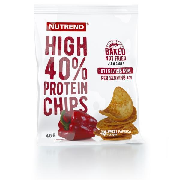 High Protein Chips Paprika Nutrend