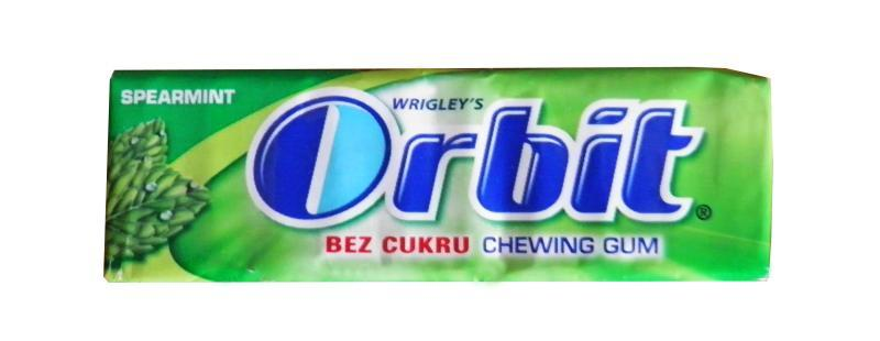 Orbit Spearmint žvýkačka