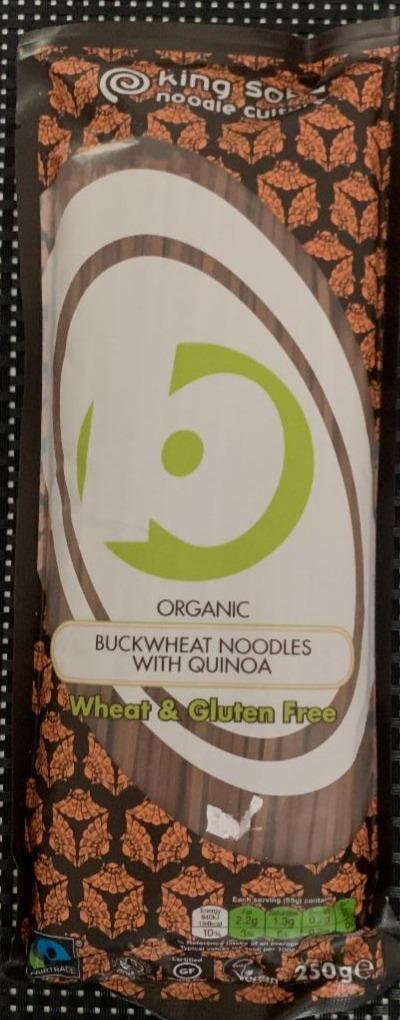 Organic Buckwheat Noodles with Quinoa King Soba - kalorie..