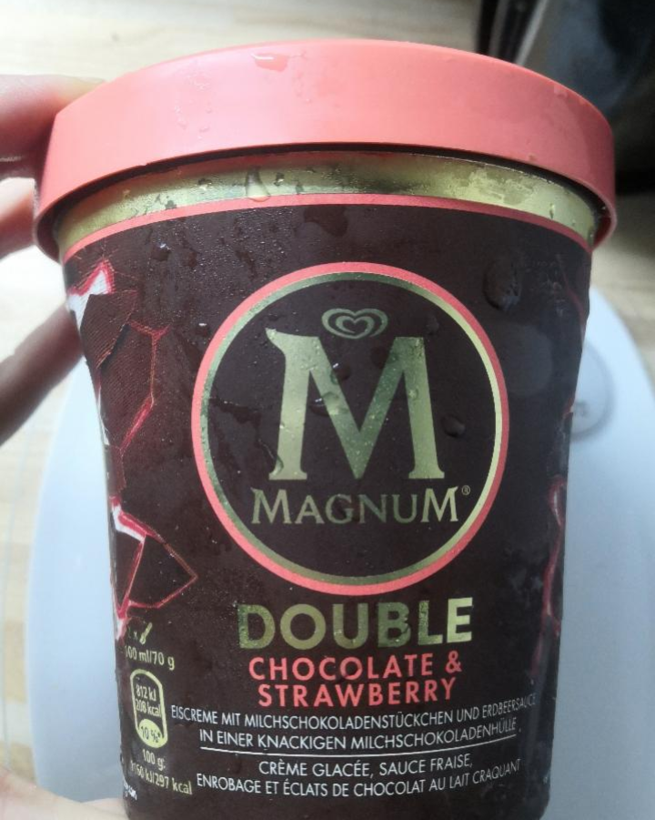 Fotografie - Magnum double chocolate strawberry