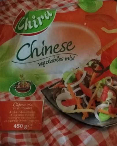 Fotografie - Chira Chinese vegetables mix