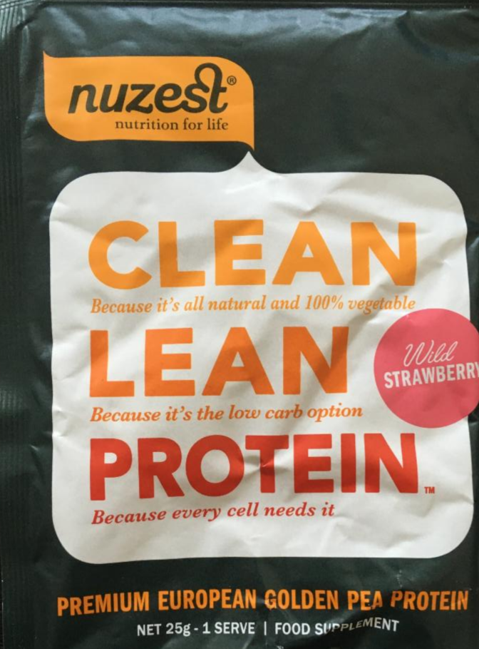 Fotografie - Clean Lean Protein Wild Strawberry Nuzest