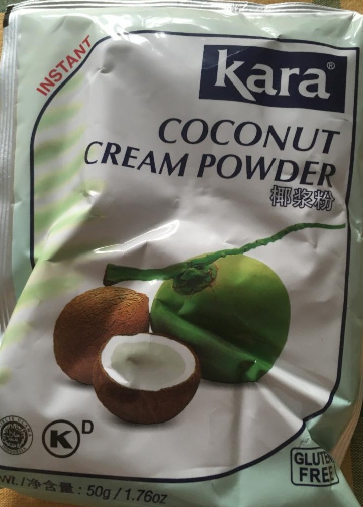 Fotografie - Coconut cream powder Kara