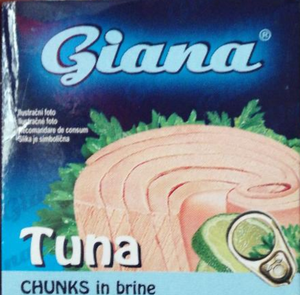Fotografie - Giana tuniak chunks in brine