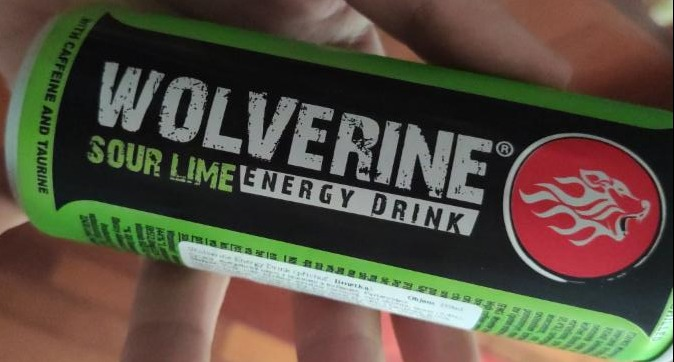 Fotografie - Sour Lime Energy Drink Wolverine