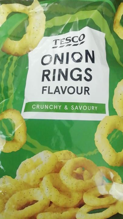 Fotografie - Onion Rings flavour Tesco