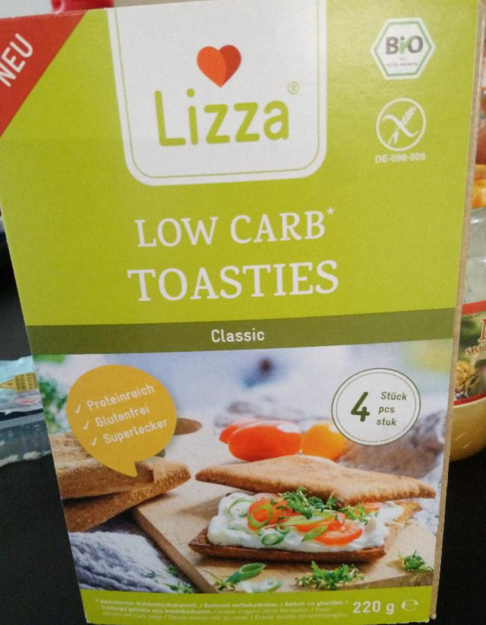 Fotografie - Lizza low carb toasties