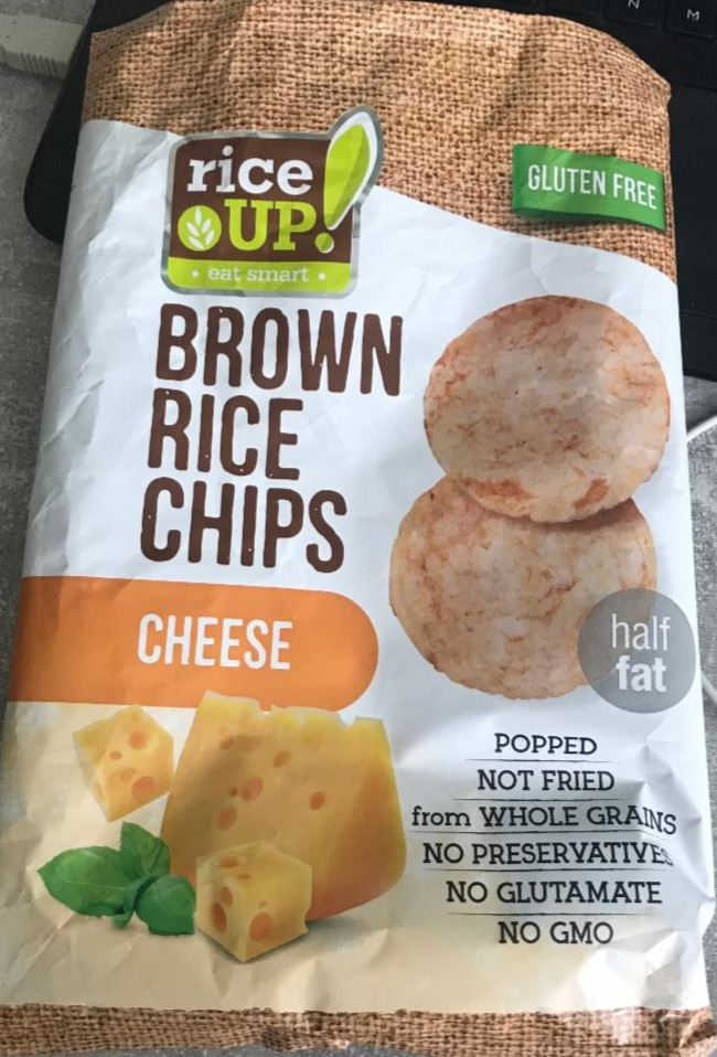 Fotografie - Brown rice chips cheese Rice up!