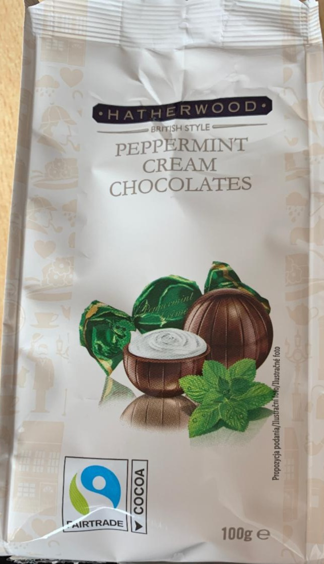 Fotografie - Peppermint cream chocolates Hatherwood
