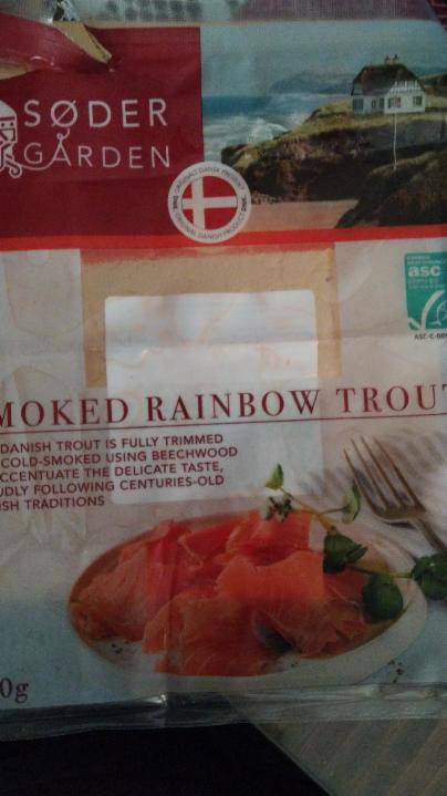 Fotografie - Smoked rainbow trout