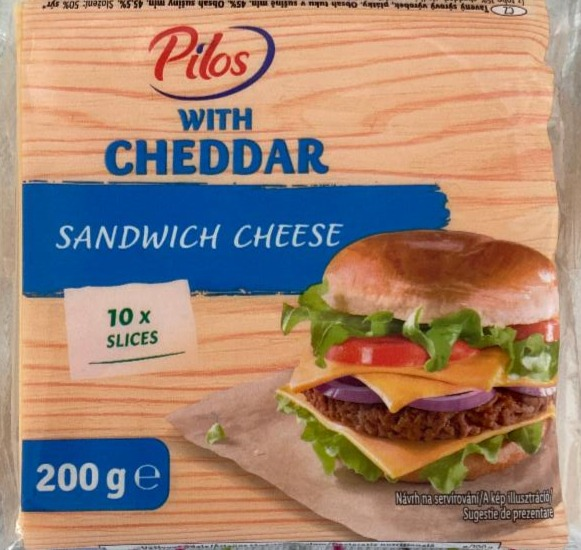Fotografie - Sandwich cheese with cheddar Pilos